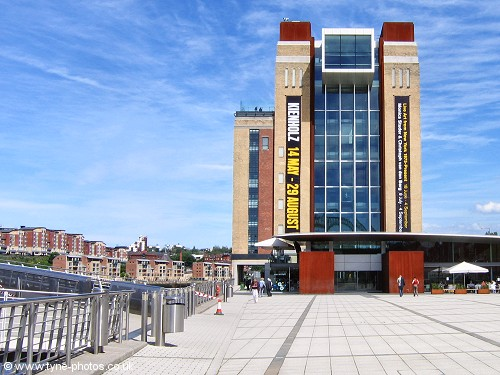 Baltic Centre on south side of the River Tyne.