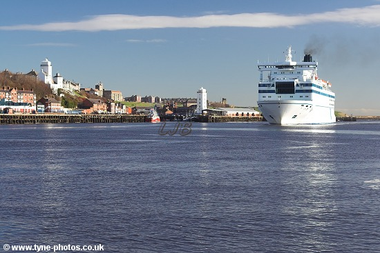 Car and Passenger Ferry - Queen of Scandinavia.